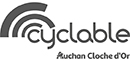Cyclable Luxembourg Auchan Cloche d'Or